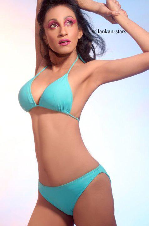 Sri Lankan Bikini Model