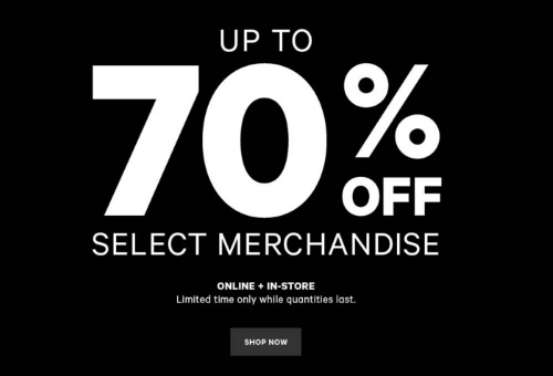 Joe Fresh Boxing Week Sale Up To 70% Off