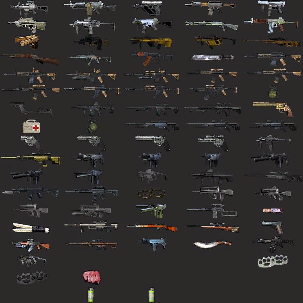 tüm silahlar