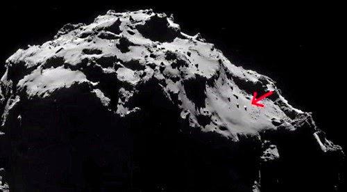 ovni cometa 67p