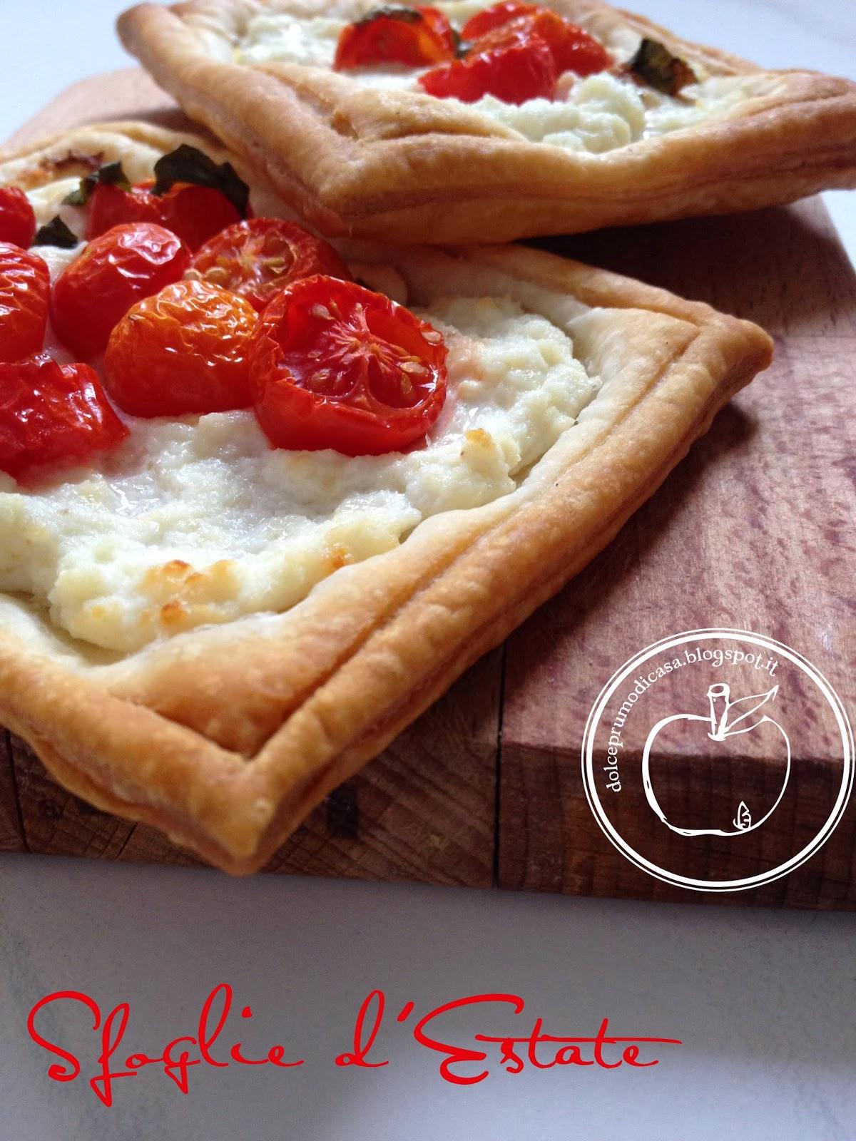 sfoglie ai pomodori, per un aperiloce (l'aperitivo veloce, eh!)