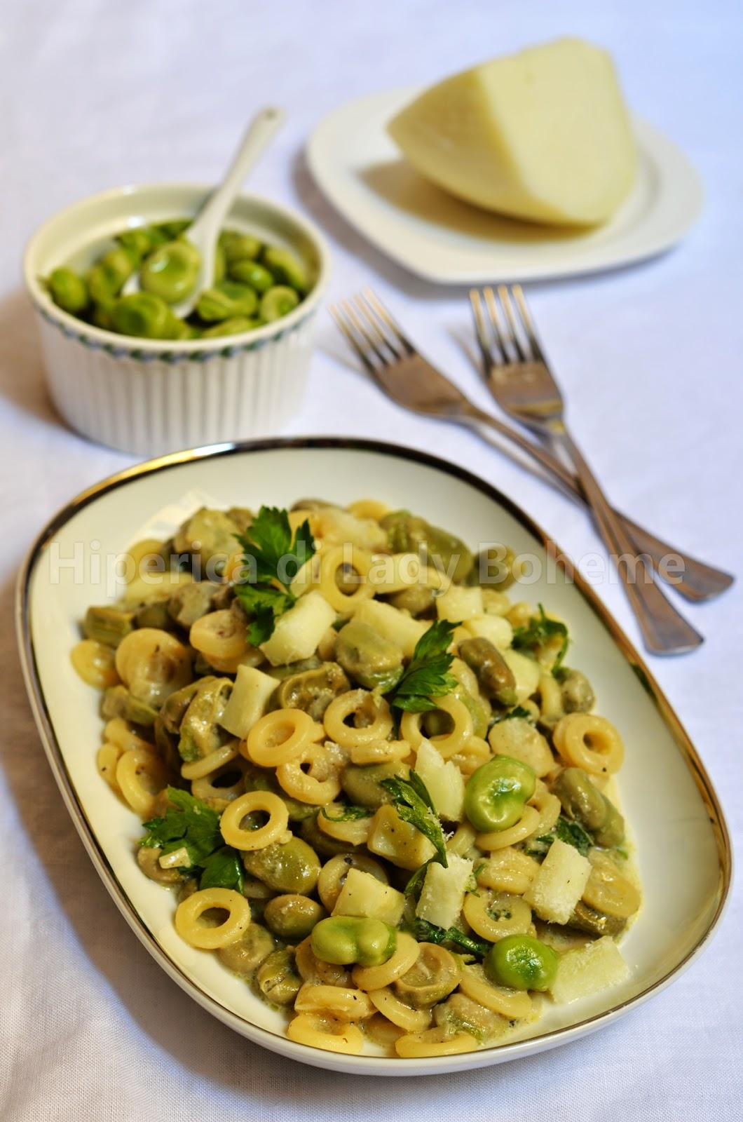 hiperica_lady_boheme_blog_cucina_ricette_gustose_facili_veloci_pasta_con_fave_e_pecorino_fresco_di_pienza_2