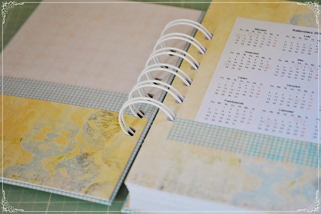 kalendarz 2014 scrapbooking