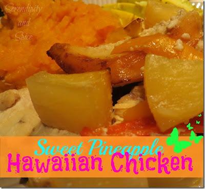 Sweet Pineapple Hawaiian Chicken Recipe.