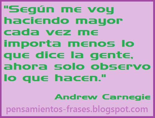 frases de Andrew Carnegie