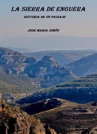 """Libro """" La Sierra de Enguera""""."""