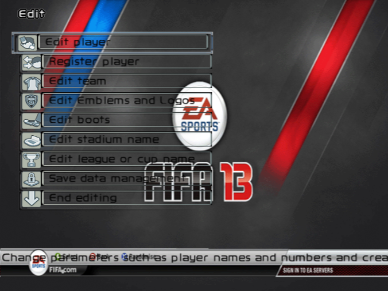 text FIFA 13 by Amirul ( Only Phoenix User )