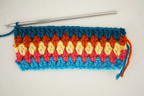 Diamond stitch blanket crochet pattern: step by step tutorial