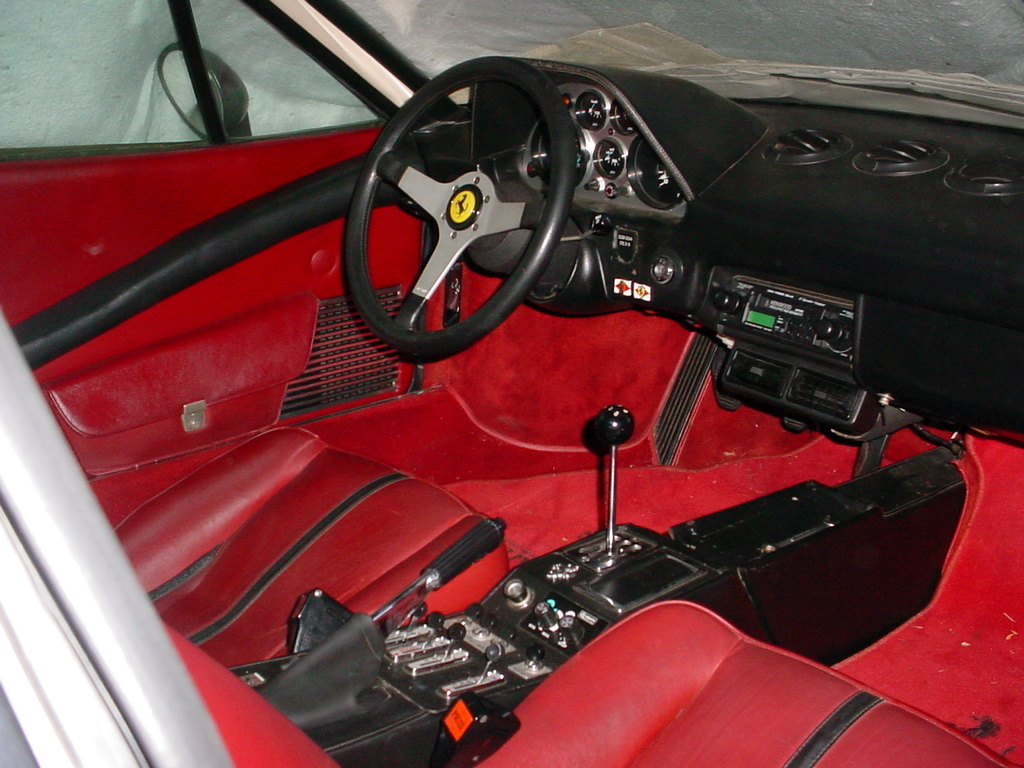 automotive engineering wallpaper ferrari 308 interior
