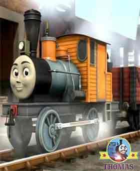 Grand Gordon and Ferdinand the logging locomotive engine Thomas the train Bash Sodor Brendam docks