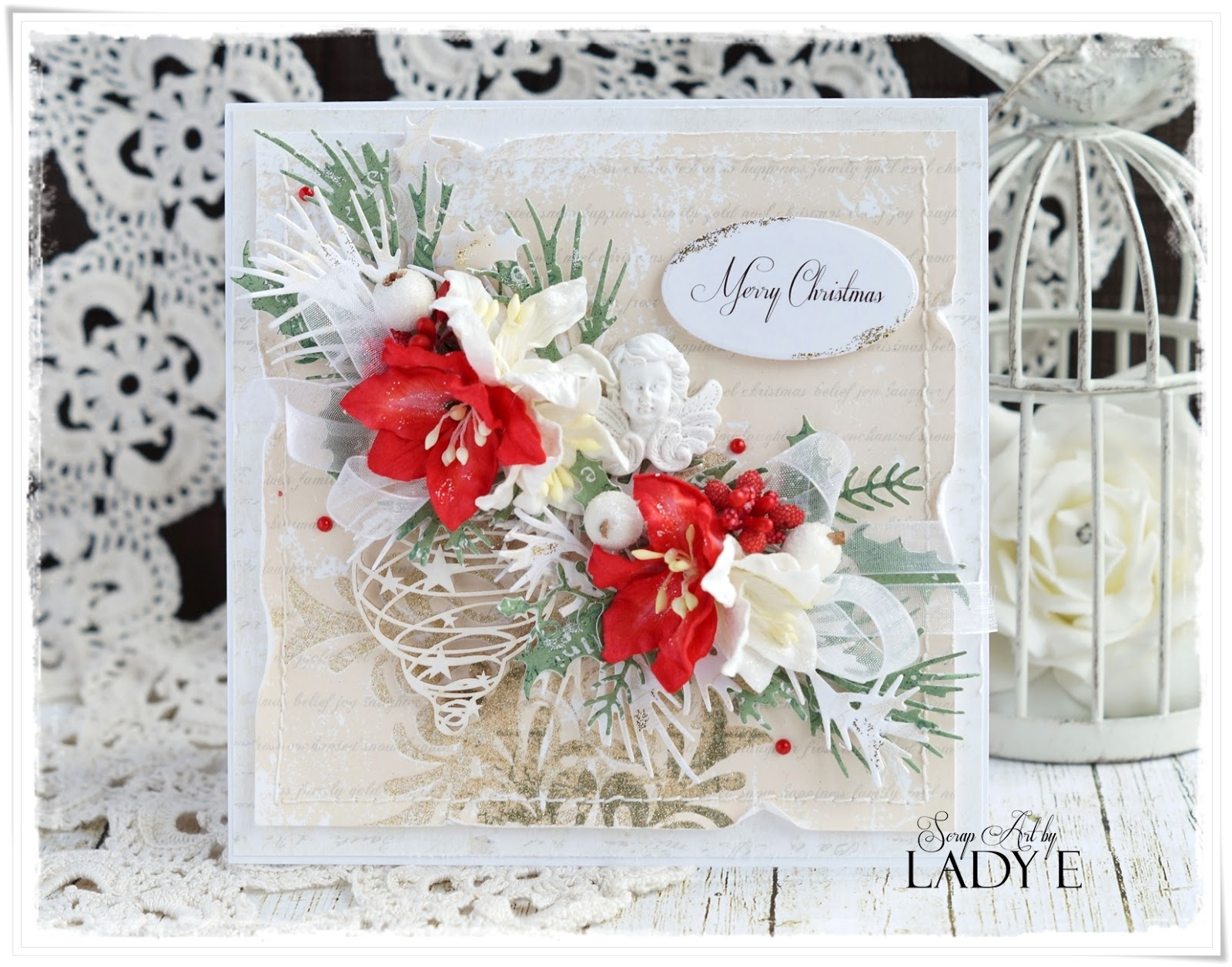 Christmas Cards Wild Orchid Crafts Dt Scrap Art By Lady E