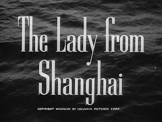 Imágenes de cine: La Dama de Shanghai | 1947 | The Lady From Shanghai