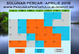 Solunar Aprilie 2016 - click detalii