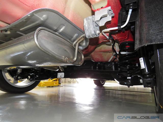 Audi A3 Sedan 1.4 Flex 2016 - suspensão traseira