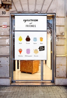 gelateria Eyescream & Friends de Barcelona