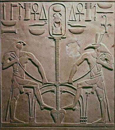 Seth y Horus: el truco del almendruco, problema-reacción-solución