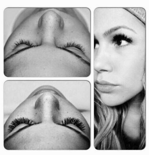 New look for the jungle? Angelina Heger: You now have the beautiful eyelashes