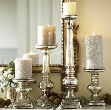 Belle maison christmas decorating theme vintage chic