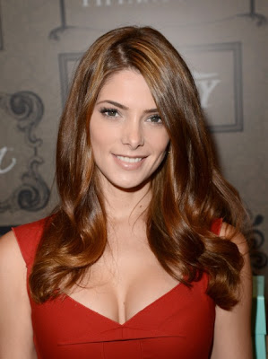 Ashley Greene red hot dress at Variety Power of Women Event - Beautiful Female Photos