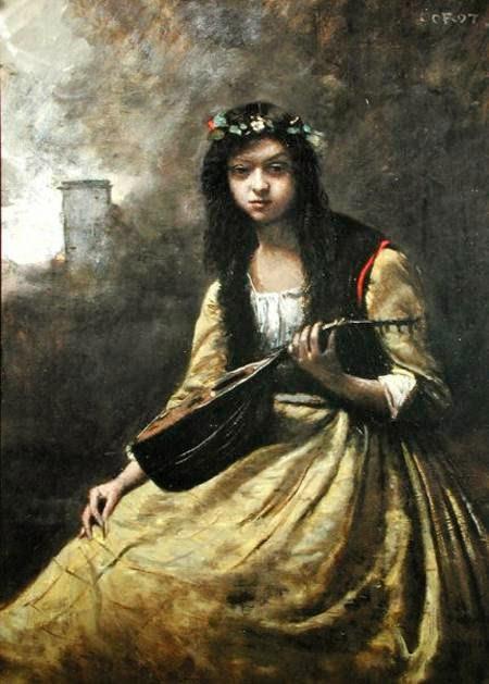 La zingara, ca. 1865