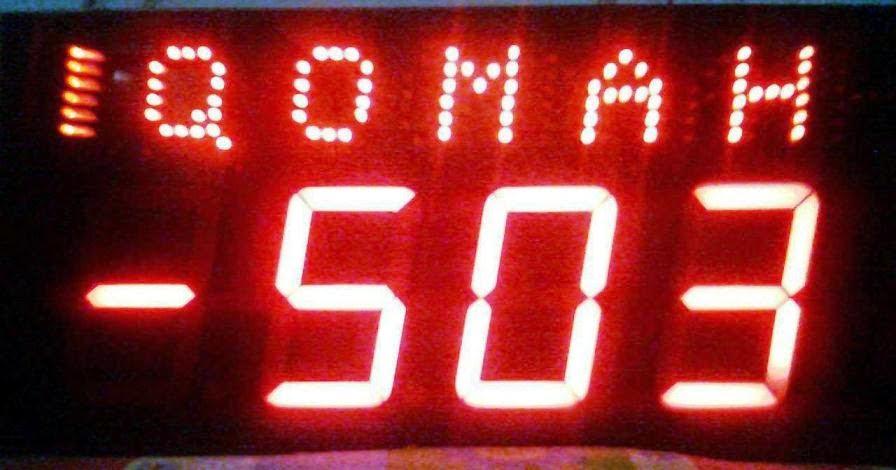 harga jam digital seven segment - jual jam digital seven segment