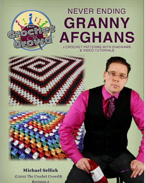 Crocheting With Mikey : Crochetpedia: Crochet Books Online - Never Ending Granny Afghans