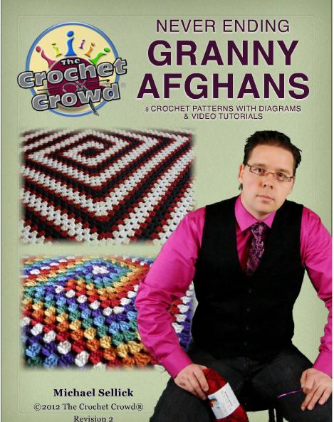 Crocheting With Mikey : Crochetpedia: Crochet Books Online - Never Ending Granny Afghans