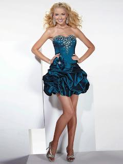 falda pick-up en vestido de fiesta