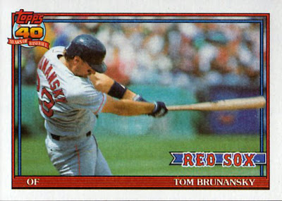Capewoods collections june 2013 1991 topps 675 tom brunansky malvernweather Gallery