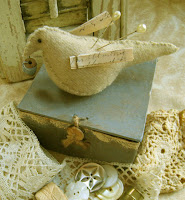 Bird Pin Cushion Box - $26