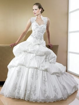 wedding dress style Stevani's white