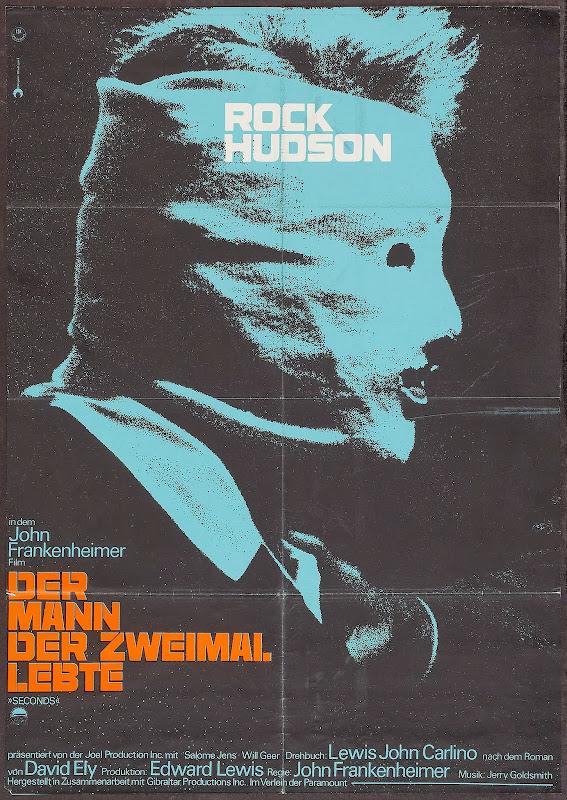 DER MANN DER ZWEIMAL LEBTE - German Poster title=
