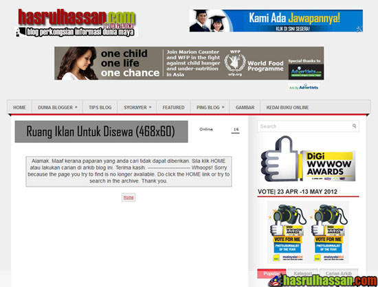 Panduan Menulis Blog   Menangani Masalah Broken Link Dalam Blogspot