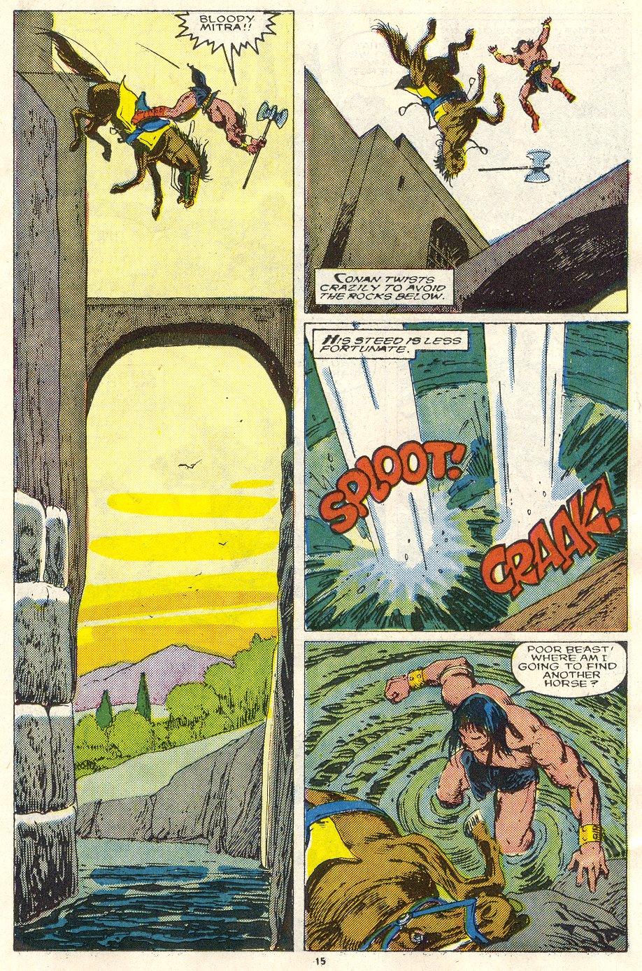 Conan the Barbarian (1970) Issue #219 #231 - English 12