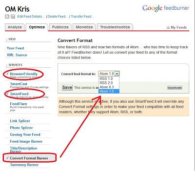 feedburner OM Kris