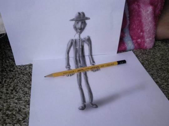 3d pencil arts