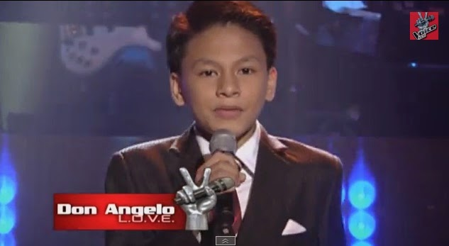 "Don Angelo Santos sings ""What Makes You Beautiful"" on 'The Voice Kids' Philippines"