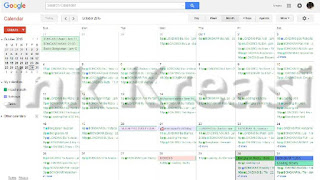 Kalender Event Oktober