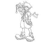 #6 Sora Coloring Page