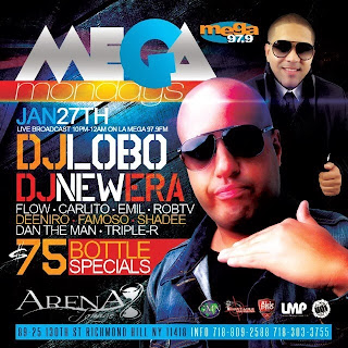 Arena Lounge, January 27, 2014
