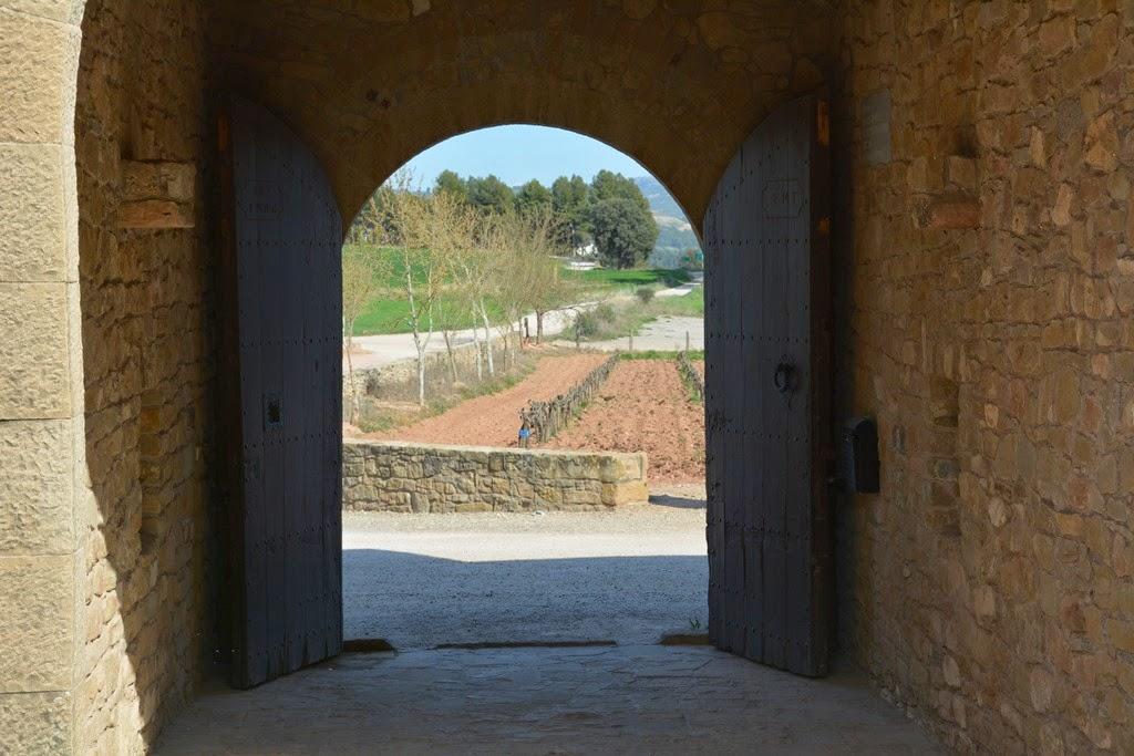 Oller dels Mas castle gate