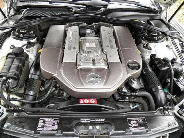 mercedes w220 s 55 amg engine