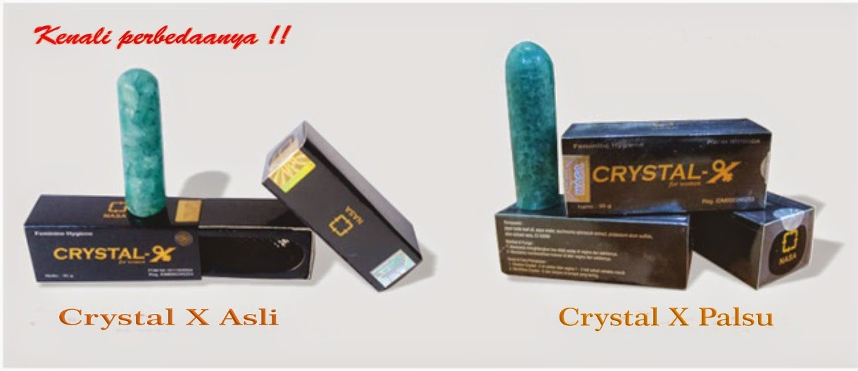 Jual Crystal X Asli Jogja