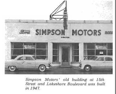 Lost Toronto Simpson Motors On Lakeshore Then And Now