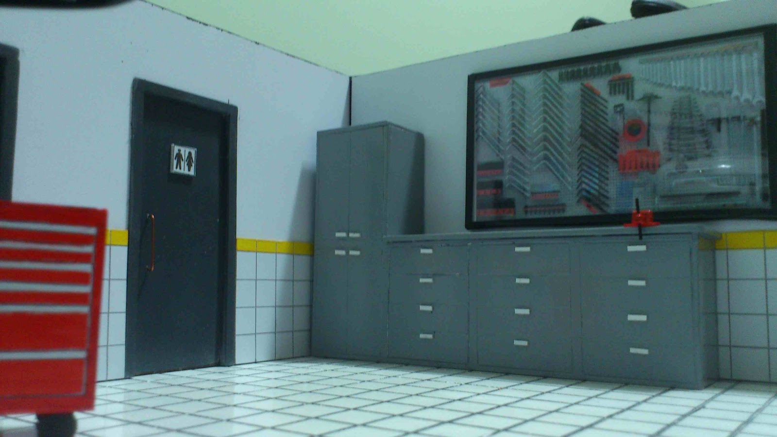 POLO MINIATURAS: Diorama Oficina Mecânica #7C7C14 1600x900