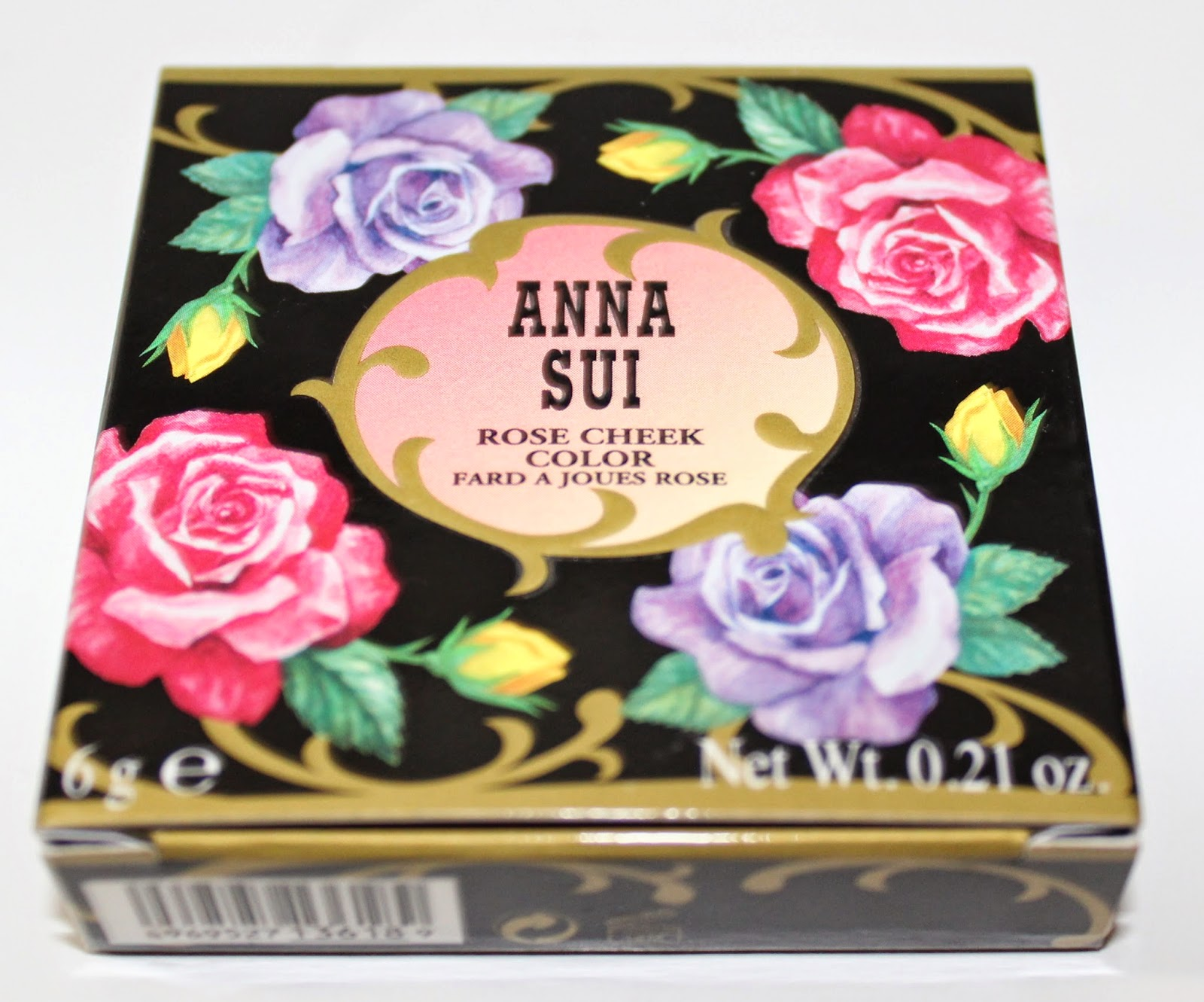 Anna Sui Rose Cheek Color in Mystic Rose Box