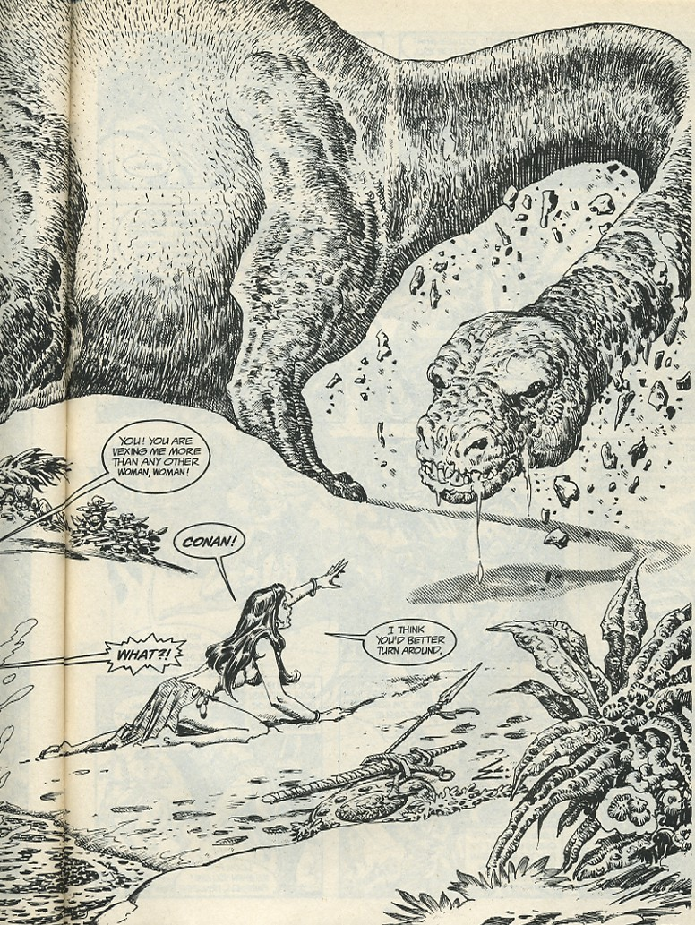 The Savage Sword Of Conan Issue #185 #186 - English 59