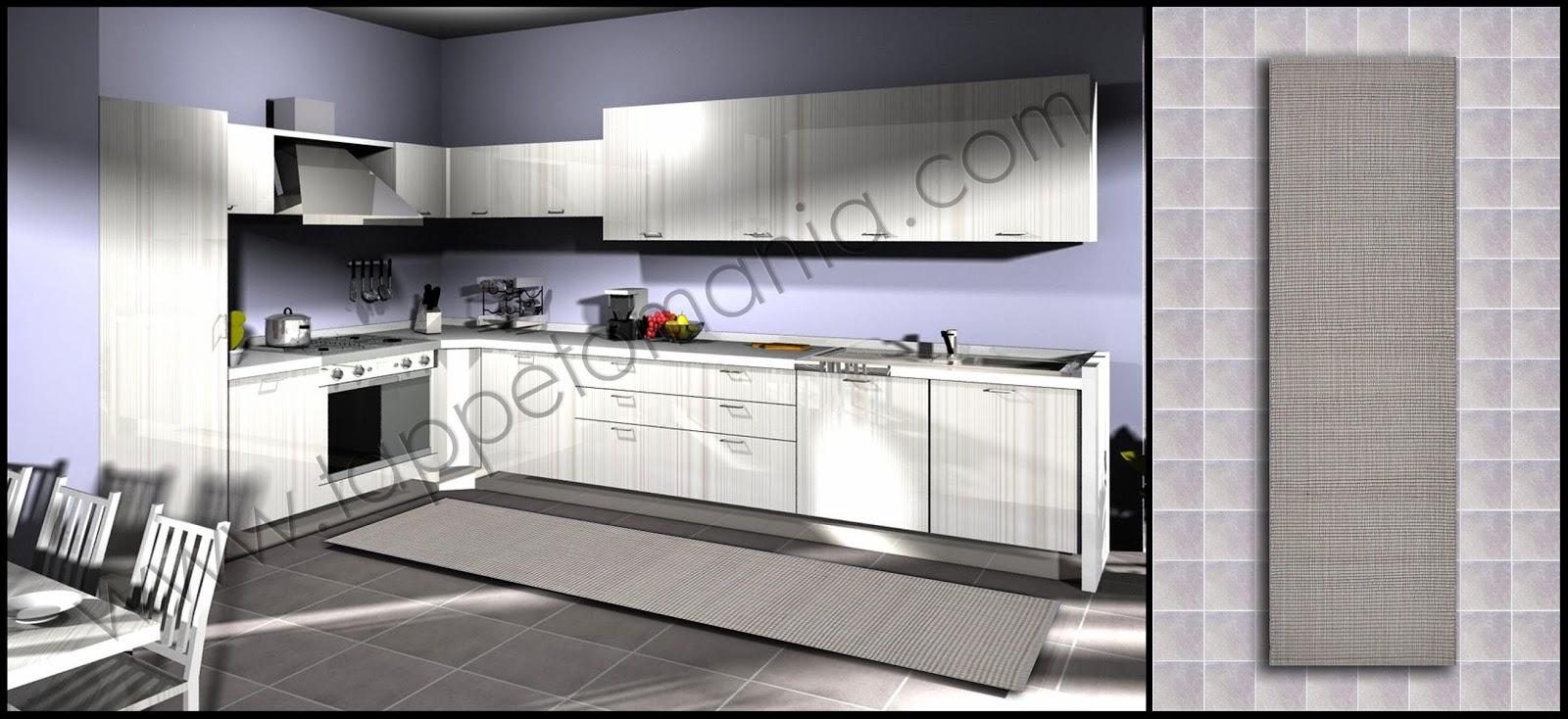 Tappeti lunghi e stretti per la cucina tronzano vercellese - Tappeti per cucina ...