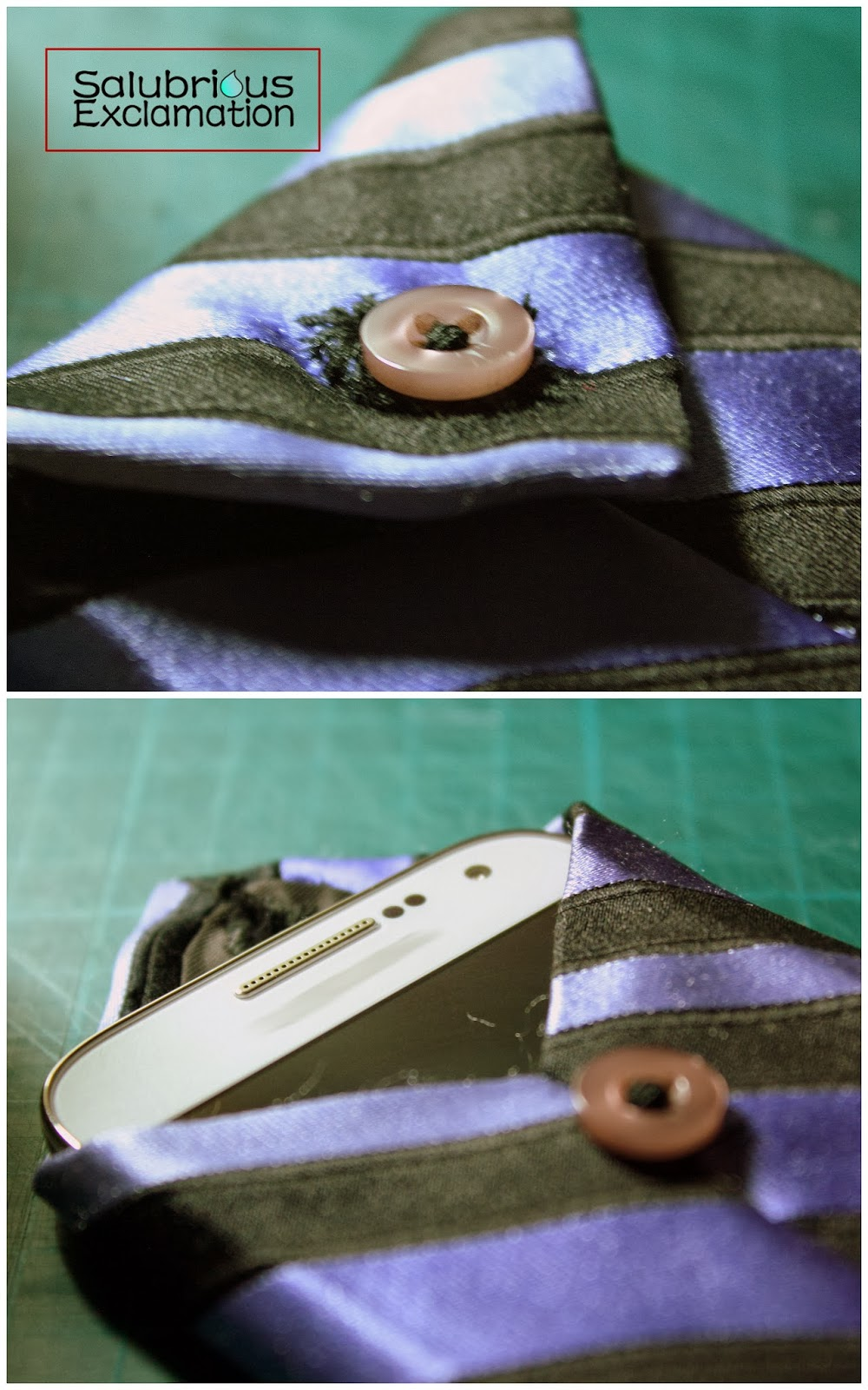 Turn A Necktie Into A Phone Case