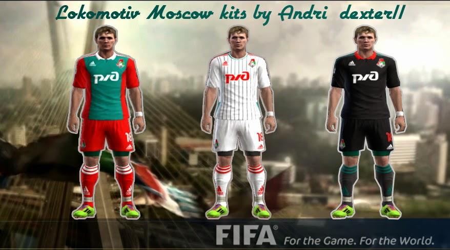 Lokomotiv Moscow Kit Pes 2013 Lokomotiv Moscow